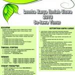 Pembukaan Lomba Karya Ilmiah Siswa 2013 Se-Jatim di UTM