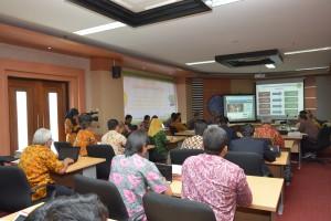 Diskusi AIPT di Ruang Rektor