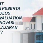 PESERTA LOLOS DESK EVALUATION HIBAH INOVASI 2017 + JADWAL PRESENTASI